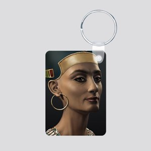 23X35-LG-Poster-Nefertiti Aluminum Photo Keychain