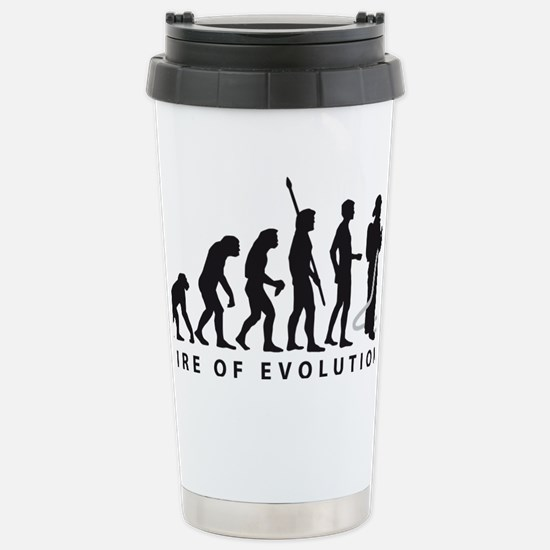 Evolution Feuerwehr 2c Stainless Steel Travel Mug