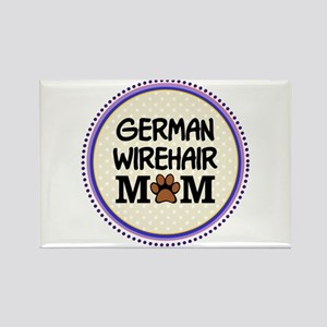 German Wirehair Dog Mom Magnets