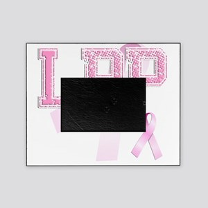 LPP initials, Pink Ribbon, Picture Frame