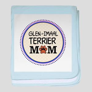 Glen of Imaal Terrier Mom baby blanket