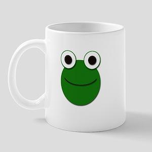 Cute Froggy Face Mug