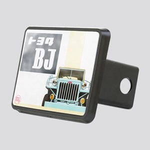 TEQ BJ faded Rectangular Hitch Cover