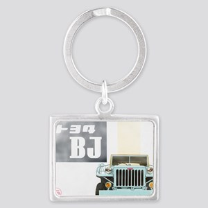 TEQ BJ faded Landscape Keychain