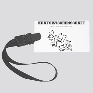 KUNTS ART - GERMAN Large Luggage Tag