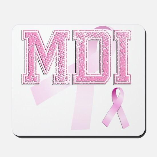 MDI initials, Pink Ribbon, Mousepad