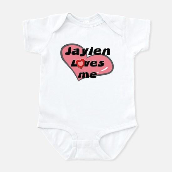 jaylen loves me  Infant Bodysuit