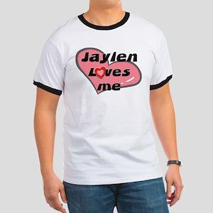 jaylen loves me Ringer T