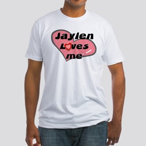 jaylen loves me Fitted T-Shirt