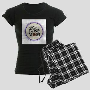 Great Dane Dog Mom Pajamas