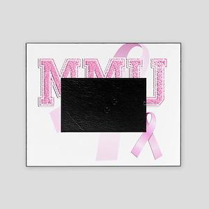 MMU initials, Pink Ribbon, Picture Frame