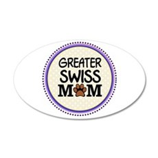 Greater Swiss Dog Mom Wall Decal