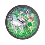 Fairy Unicorn Wall Clock