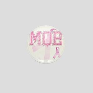 MQE initials, Pink Ribbon, Mini Button