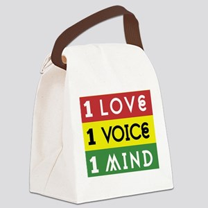 NEW-One-Love-voice-mind3b Canvas Lunch Bag
