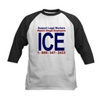 Report Illegal Employers to ICE Kids Baseball Jers