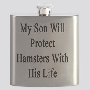 My Son Will Protect Hamsters With His Life Flask