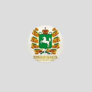 Tomsk Oblast COA Mini Button