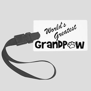 Grandpaw Large Luggage Tag
