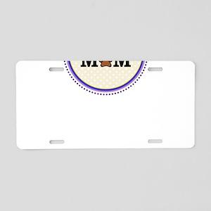 Havanese Dog Mom Aluminum License Plate