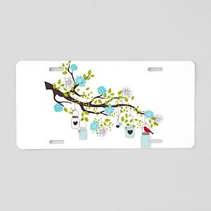 Spring Bliss Love Aluminum License Plate