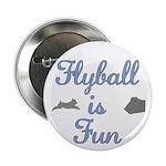 Flyball Fun Button