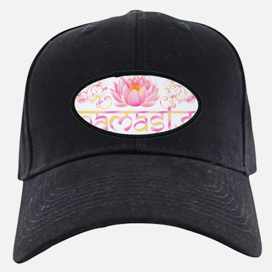 Namaste_lotus_new Baseball Hat