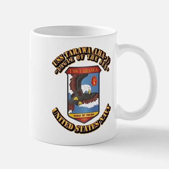 USS Tarawa (LHA-1) with Text Mug