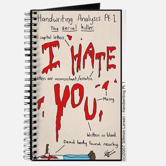 Handwriting Analysis Journal