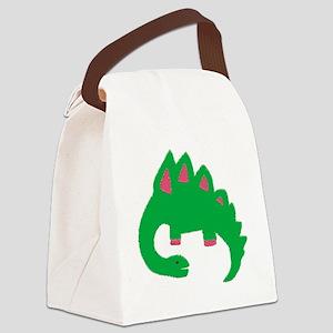 Meg Ryan Dinosaur Canvas Lunch Bag