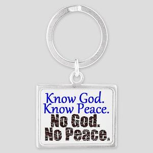 Know no Landscape Keychain