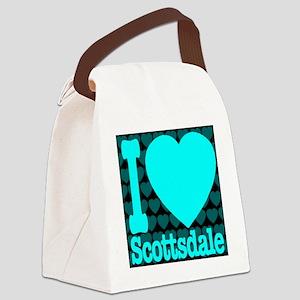 I (Heart) Scottsdale Canvas Lunch Bag