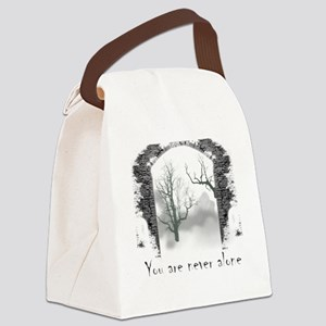 You are Never Alone Canvas Lunch Bag