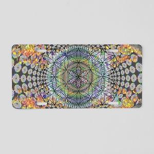 420 brain vaporizer magic p Aluminum License Plate