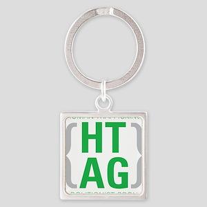 HTAG Emblem Square Keychain