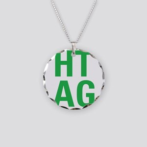 HTAG Emblem Necklace Circle Charm