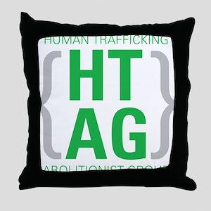 HTAG Emblem Throw Pillow