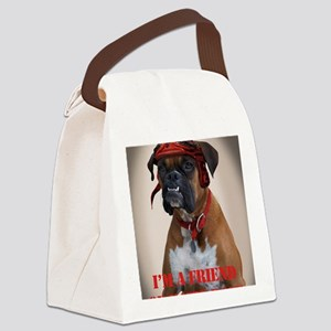 Katie Rose Canvas Lunch Bag