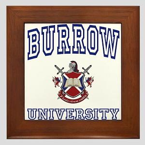 BURROW University Framed Tile