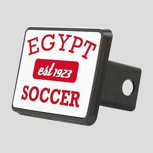 Egyptian Soccer Designs Rectangular Hitch Cover