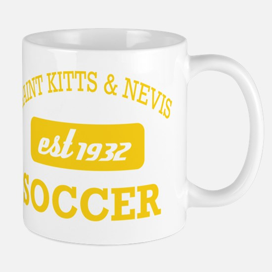 Saint Kitts And Nevvis Soccer Mug