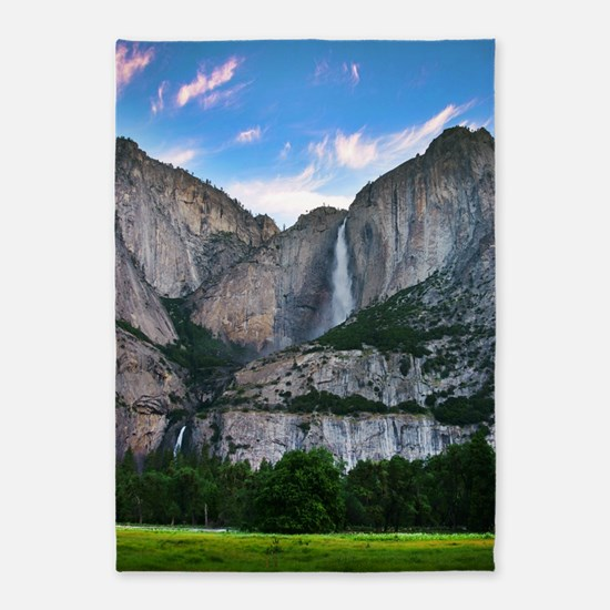 Yosemite Falls 5'x7'Area Rug
