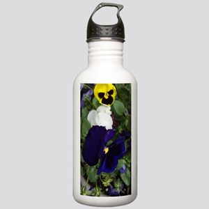 Pansies Stainless Water Bottle 1.0L