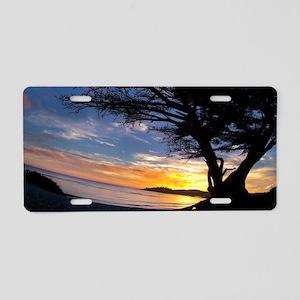 Streaming Sky Aluminum License Plate