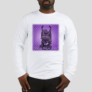 Buddha Smiles Long Sleeve T-Shirt