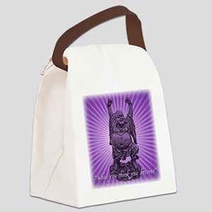 Buddha Smiles Canvas Lunch Bag
