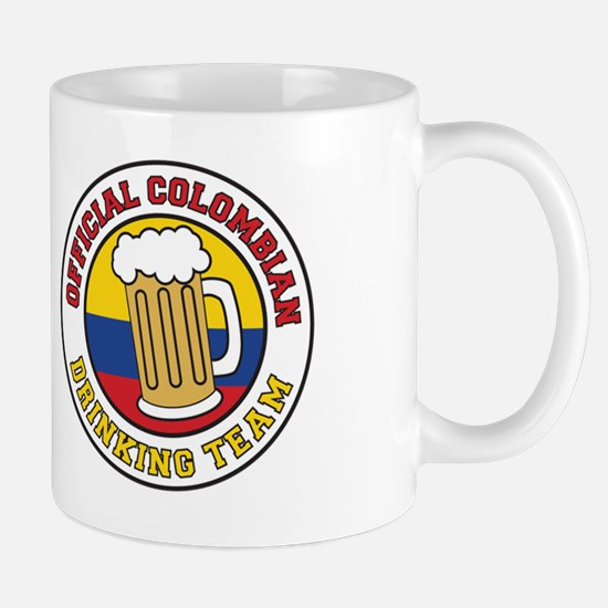 Official Colombian Drinking Team Stein Mug