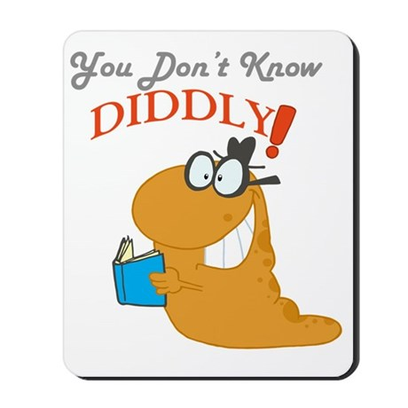 You Dont Know DIDDLY! Mousepad