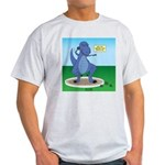 T-Rex Shot Put Light T-Shirt