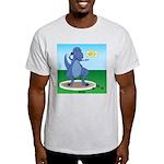 T-Rex Shot Put Light T-Shirt